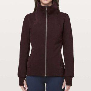 Lululemon Full-Zip Sweatshirt - Plum - Like New!
